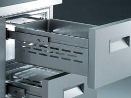 AU refrigerated tables Zanussi Professional