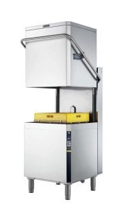 Insulated manual hood type dishwasher Zanussi Professional